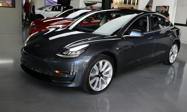 Tesla Model 3 was UK's No 3-selling car in August