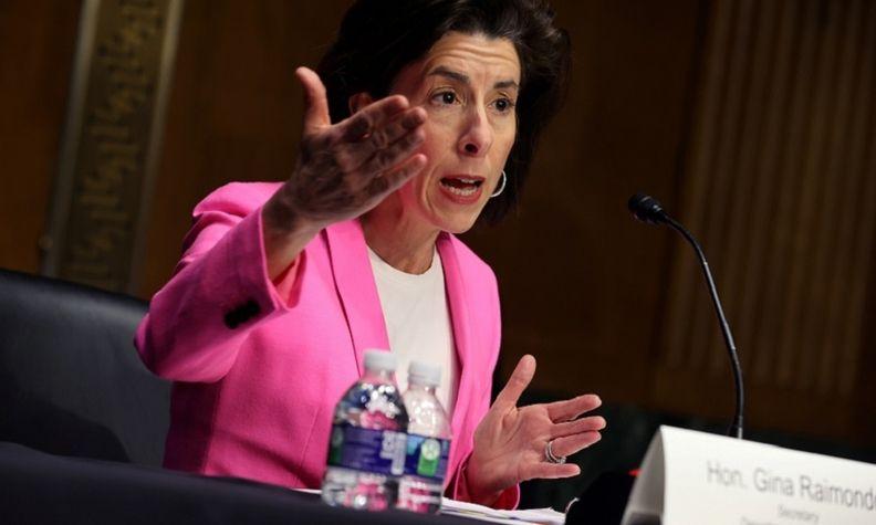 U.S. Commerce Secretary Gina Raimondo