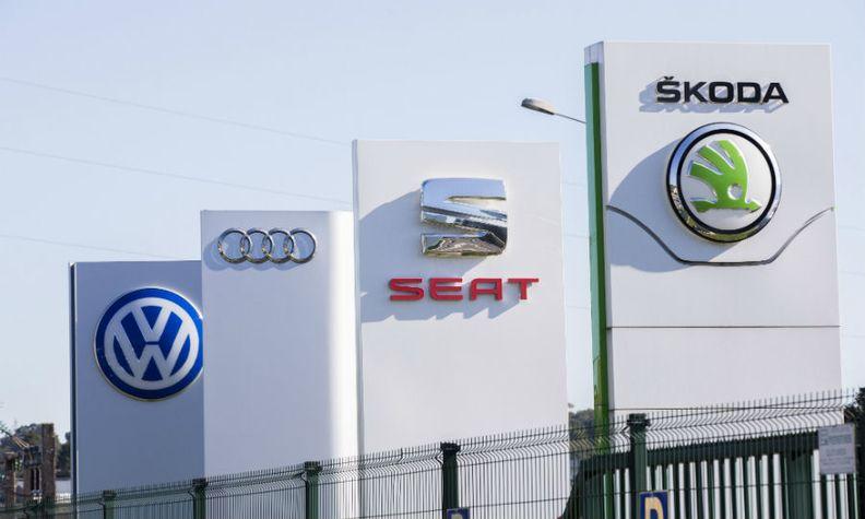 VW Group brands Audi, Skoda, Seat