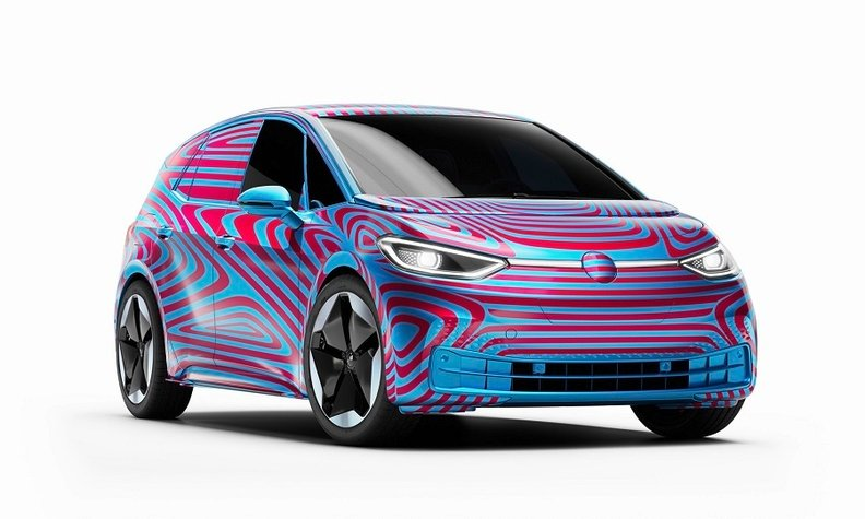 Volkswagen's First Fully Electric Car Finally Has A Name
