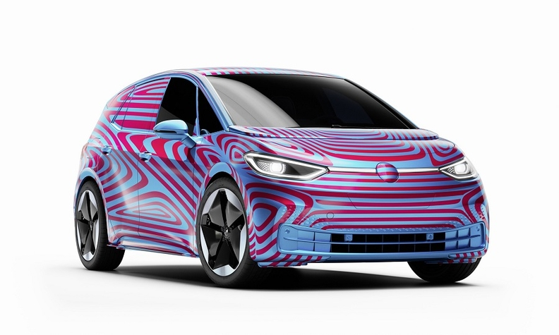 VW releases official photos and pricing for landmark ID.3 electric hatchback