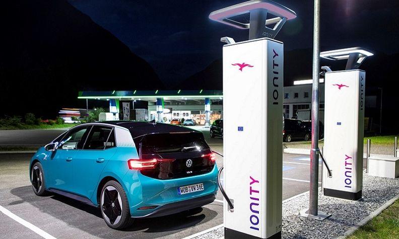 VW ID3 Ionity
