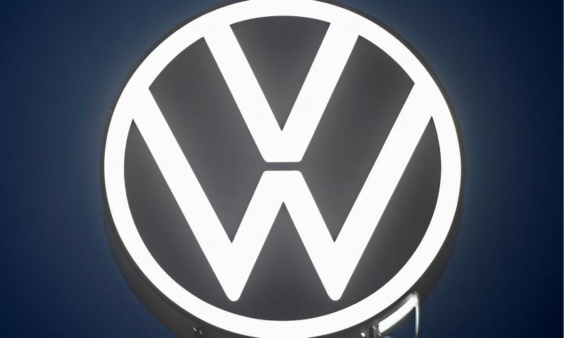 vw unveils new logo as it bids to leave behind diesel scandal