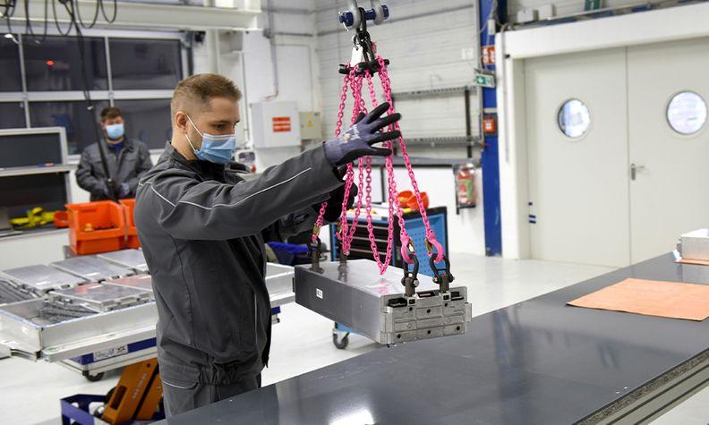 VW Salzgitter battery plant