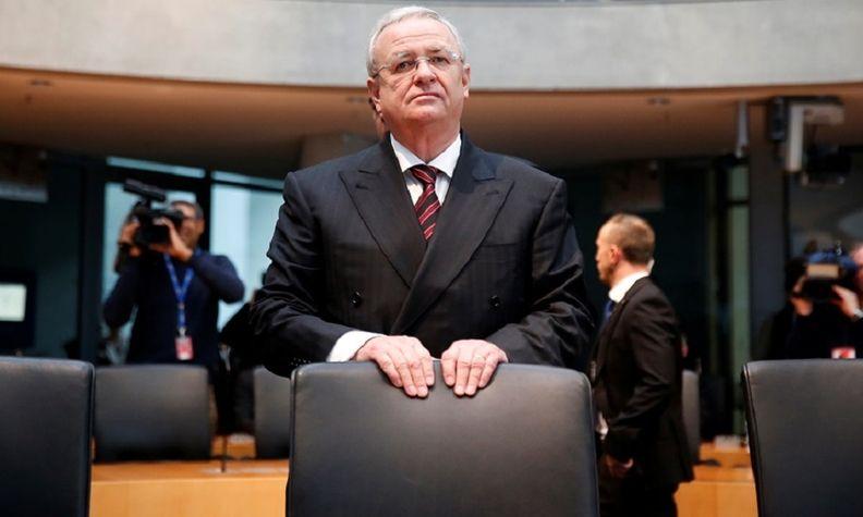 VW Winterkorn German parliamentary committee on Jan. 19, 2017