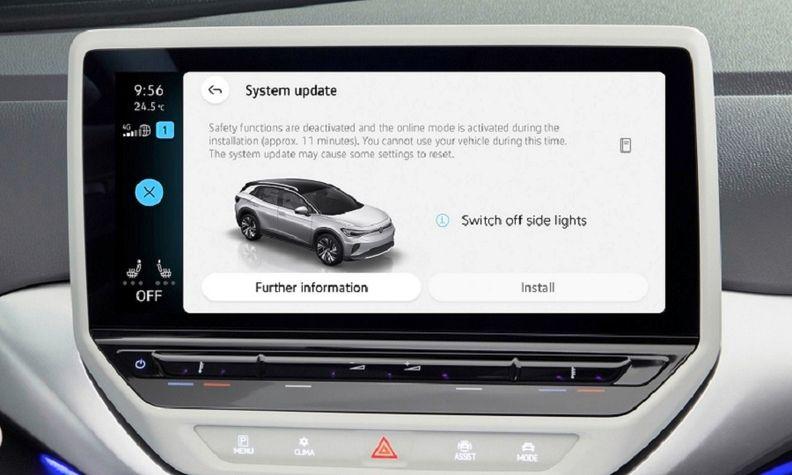 VW ID OTA updates