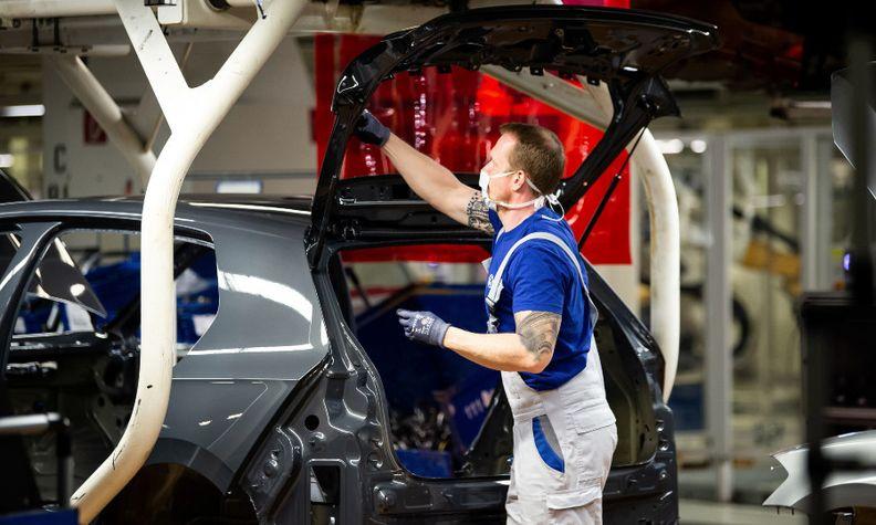 VW worker Wolfsburg