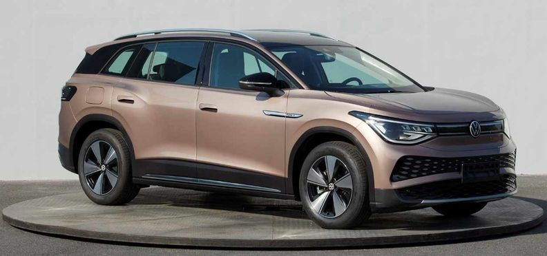 Photos of the ID6 were posted on the website of China's Ministry of Industry and Information Technology ahead of the SUV's unveiling at the Shanghai auto show in April.