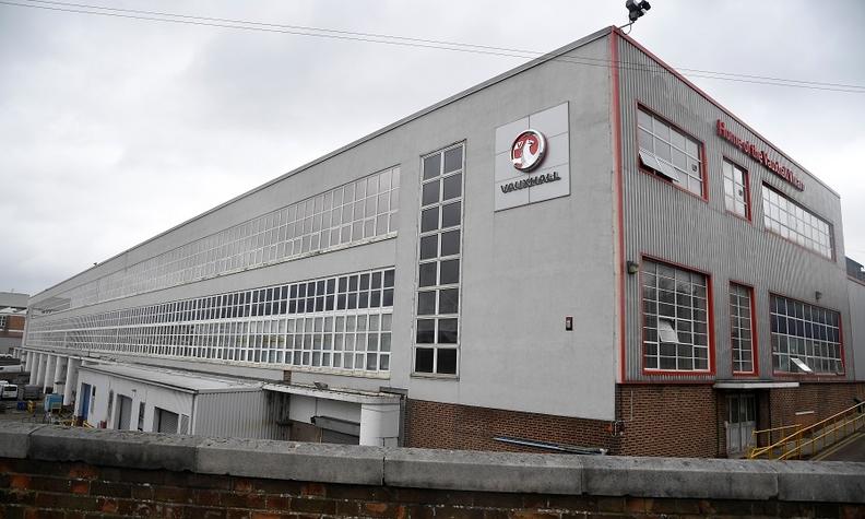 The Luton factory builds Opel/Vauxhall Vivaro, Peugeot Expert and Citroen Dispatch vans.