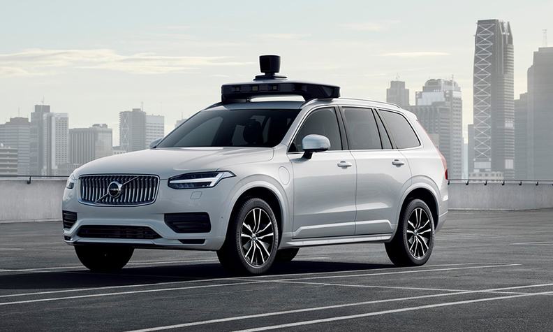 Volvo and Uber show off production-ready self-driving vehicle