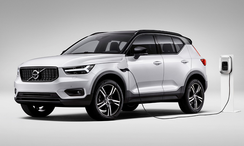 The Xc40 T5 Twin Engine Plug In Hybrid Shown Is One Of Three Electrified Versions Compact Suv That Automaker Will Roll Out
