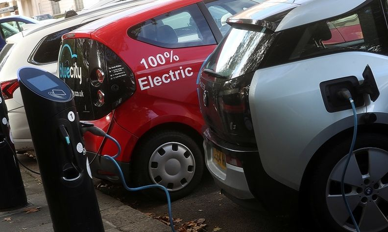 Gasoline and diesel cars and vans should be phased out to support the shift to zero-emission vehicles, nine EU countries said.