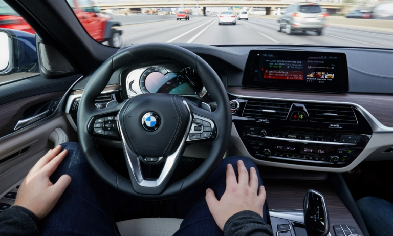 BMW in talks with automakers over joining its self-driving group